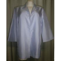 Saco T.36, Lila Azulado, 100% Seda, Elegante, Grace Suits