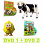 Combo Oferta Dvds Para Niños Canciones De La Granja 1 Y 2