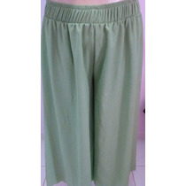 Calça Tamanho Grande Plus Size Godê Tipo Pantalona