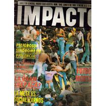 Revista Impacto:tragedia En La Final America Vs Pumas (1985)