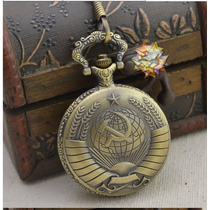 Relógio De Bolso Estilo Russo Bolchevique, Estilo Vintage