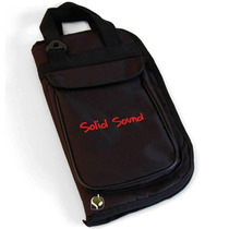 Capa Luxo Case Bag De Baquetas Bateria Luxo Brinde