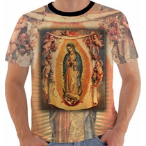 Camisa Camiseta Baby Look Regata Nossa Senhora Guadalupe 2