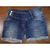 Shorts Jeans Tamanho 36 Marca Tnw Muito Lindo!!!