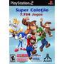 Jogos De Super Nintendo, Mega, Nes, Atari Para Seu Play2 Pc