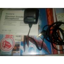 Microfono Electret Condenser, Sony Ecm 719_ideal Para Recita