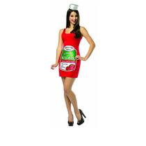 Disfraz Original Halloween Unitalla Catsup Ketchup Importado