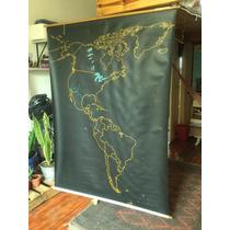 Mapa Américas Pizaron Didáctica Decoración