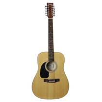 Guitarra 12 Cuerdas Natural Zurda Marca Rmc