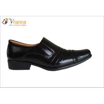Zapatos De Vestir De Cuero Para Hombre Color Negro