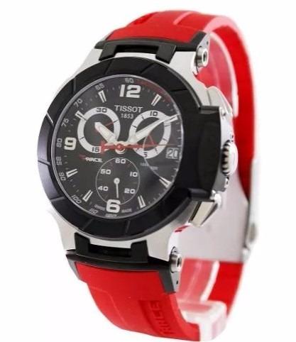 aa9d235e529 Relogio Tissot Moto Gp Vermelho Borracha Melhor Custo Oferta - R  599