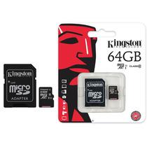 Lote 10 Memoria Kingston 64 Gb Clase 10!