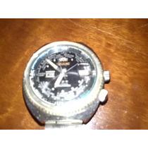 Antigo Relógio Orient World Diver 21 Jewels Funciona.