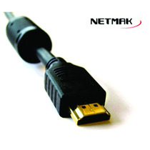 Cable Hdmi A Hdmi - Netmak - Version 1.4 - 5mts -doble Fitro