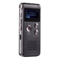 Gravador De Voz Digital 4gb Escuta Telefônica Mp3 Rc609