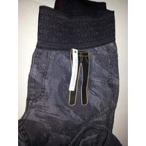 Calça Jeans Feminina Cós Elástico Dbz Hot Pants, Promoção