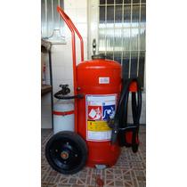 Extintor Carreta Pqs Bc 50kg C/ Rodas Pó Químico -valid 2017