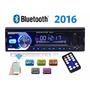 Radio De Auto Bluetooth/mp3/usb/sd/fm/aux/manos Libre + Ctrl