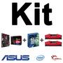 Kit Asus B150 Pro Gaming/aura + I5-6600k + 8gb (2x4gb) Ddr4