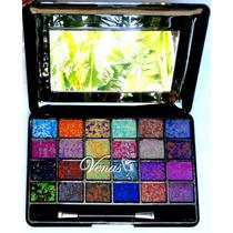 Maquiagem Make Up Sombra 3d 24cores Venas