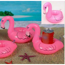 Porta Vaso Inflable Flamingo