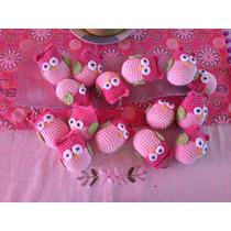 Souvenirs Búho Crochet