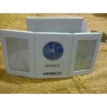 Reloj De Escritorio Con Portarretrato Sony Genezi Nuevo Vbf