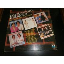 Lp Os Grandes Sucessos - Chitãozinho E Xororó, Vinil De 1987