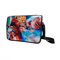 Dragon Ball Z Mochila Escolar De Portafolio Gohan Majin Boo
