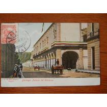Antigua Postal 1895 Palacio De Gobierno Durango