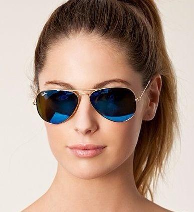 f4c27c80d4267 Gafas Ray Ban Aviador 3025 Azul Cristal G15 -   970.00 en Mercado Libre