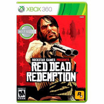Red Dead Redemption Xbox One E Xbox 360 Original Lacrado