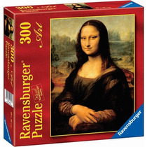 Rompecabezas Mona Lisa Geoconda 300 Pz Ravensburger 14005