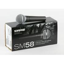 Microfono Shure Sm58 Original Made In Mexico