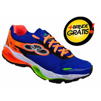 Tenis Masculino Tube Impulse Sprint Decision Null + Brinde
