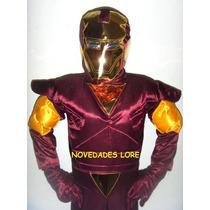 Padrisimo Disfraz Iron Man Niño Regalo Cumpleaños Disfraces