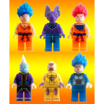 Dragon Ball Z Freezer Bills Wiss Goku Compatible Con Lego
