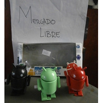 Paquete Robots Android Camina Cuerda Walking Rojo Verde