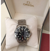Relogio Omega Seamaster Gmt 50 Years Com Nota Fiscal