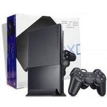 Playstation 2 Slim Desbloqueado+controle+5jogos
