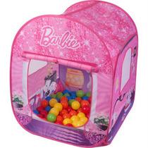 Barraca Infantil Barraquinha Barbie + 50 Bolinhas Original