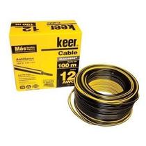 Rollo De Cable Thw Calibre 12 Awg Negro