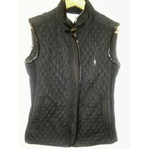 Chaleco Cardon Negro Espectacular Diseño Nuevo