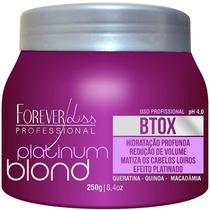 Forever Liss Platinum Blond Botox Intensive Matizador 250g