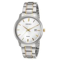 Reloj Seiko Sur197p1 Es Neo Classic Two-tone Stainless