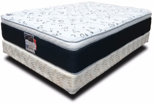 Colch n y box matrimoniales spring air soporte confort for Colchones king size baratos