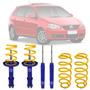 Suspensão Fixa Molas Preparada Tebão Vw Polo Hatch Kit