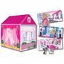 Carpa Casita Fashion Barbie 2 En 1 Original Tv La Lucila