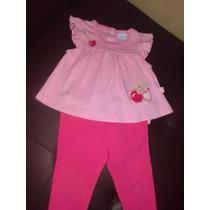 Ropa Epk Vestidos Conjuntos Para Niña Bambino Algodón