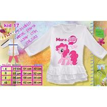 Vestido Nena My Little Pony Pinkie Pie Personalizado